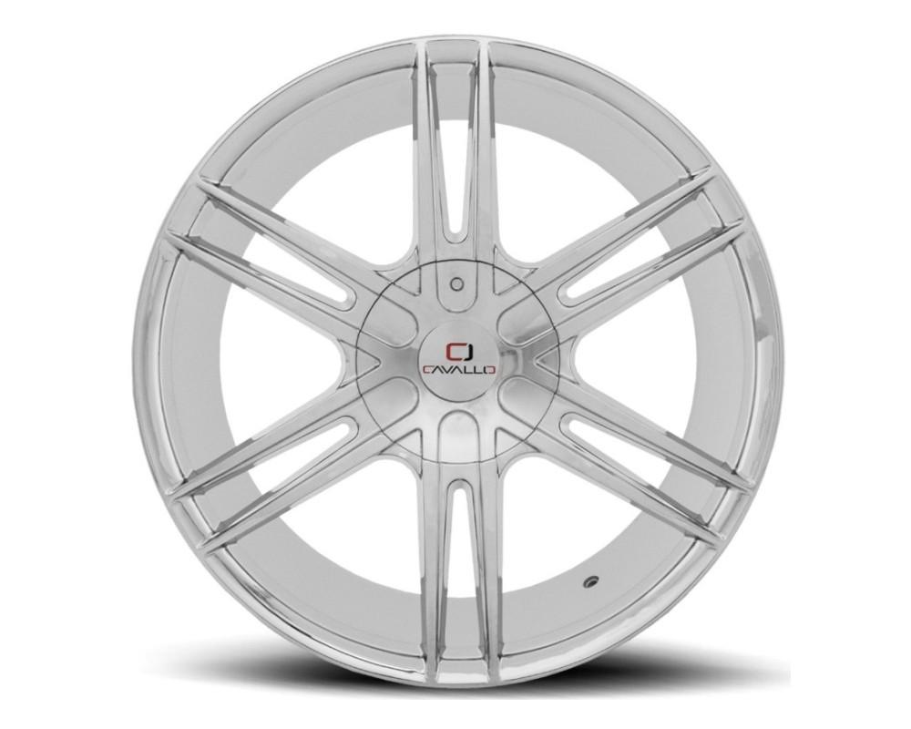 Cavallo CLV-20 Wheel 24x9 5x115|5x120 18mm Chrome