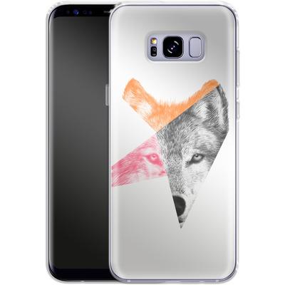 Samsung Galaxy S8 Plus Silikon Handyhuelle - Wild von Eric Fan