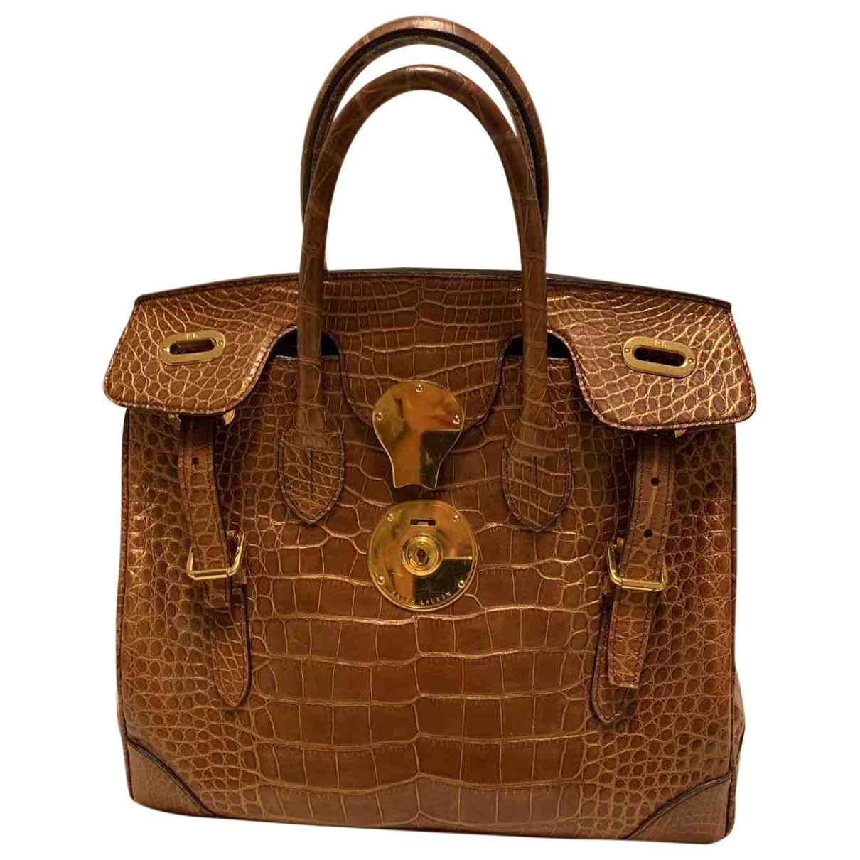 Ralph Lauren \N Brown Crocodile handbag for Women \N