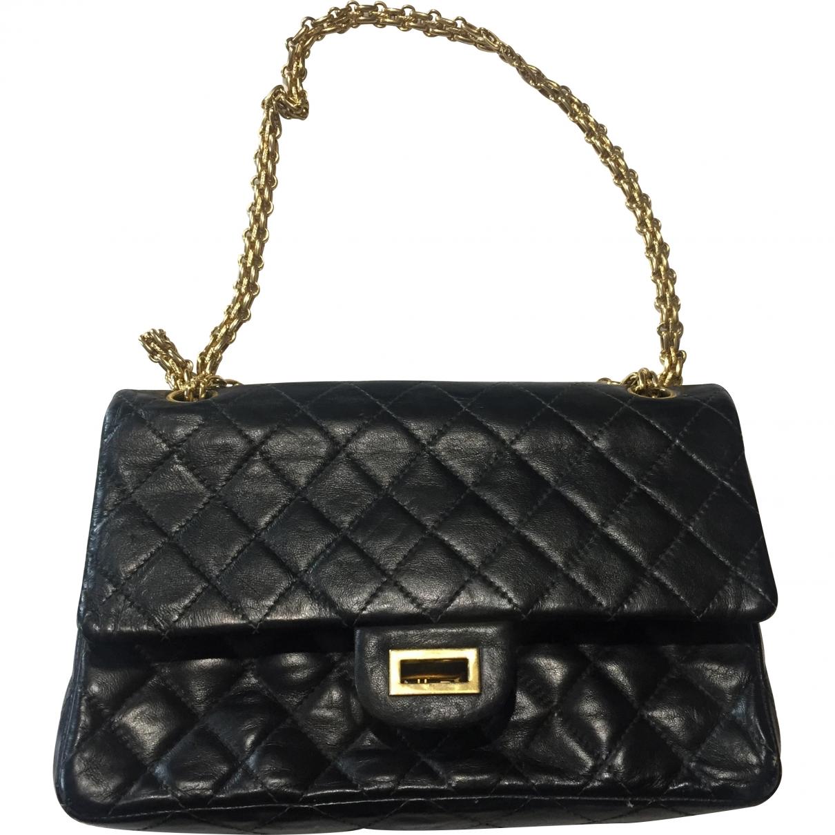 Chanel 2.55 Blue Leather handbag for Women \N
