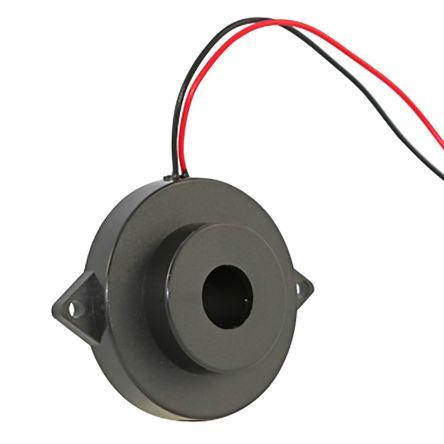 RS PRO Black Buzzer, 40 mm Diameter, 1 → 40 V (2)
