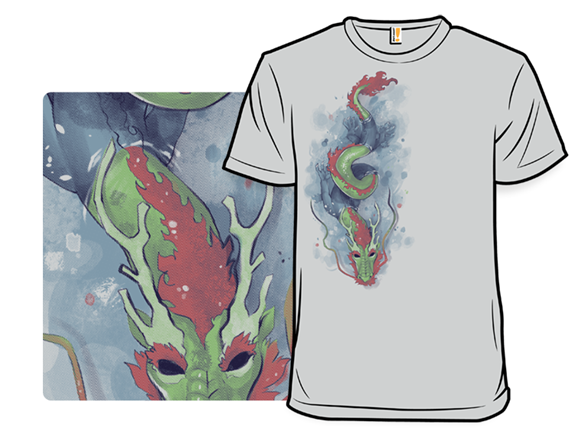 The Serpent Submerged T Shirt