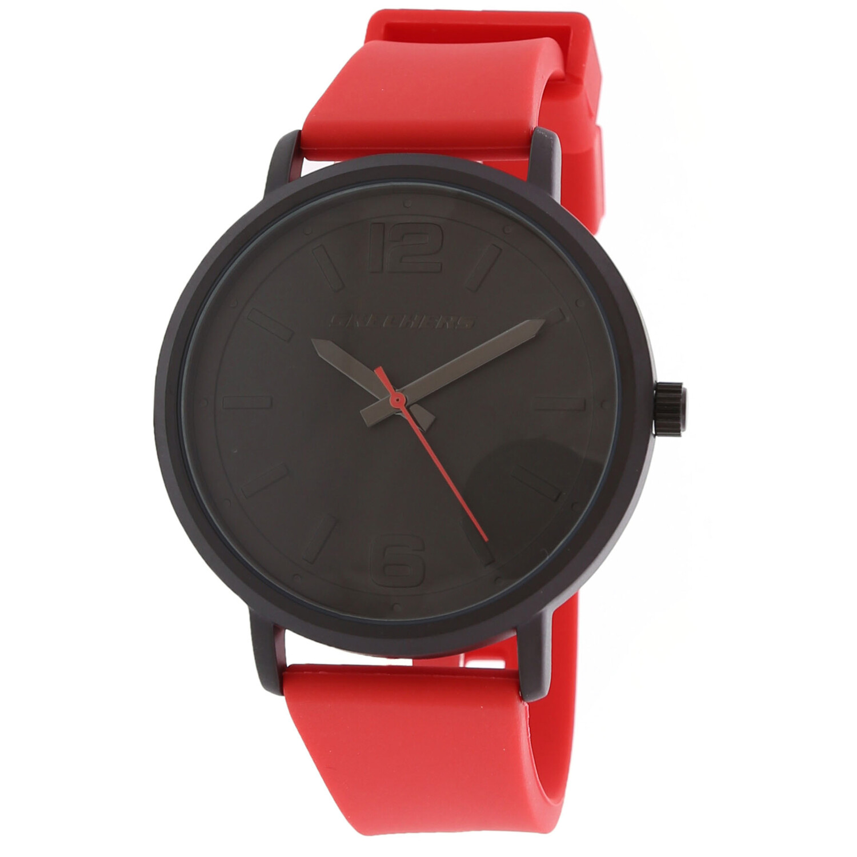 Skechers Watch SR5043 Ardmore, Quartz Analog Display, Water Resistant, Silicone Band, Black