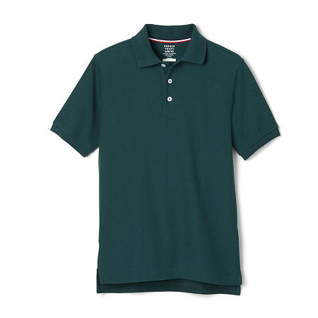 French Toast Little & Big Boys Short Sleeve Polo Shirt, Xx-large , Green
