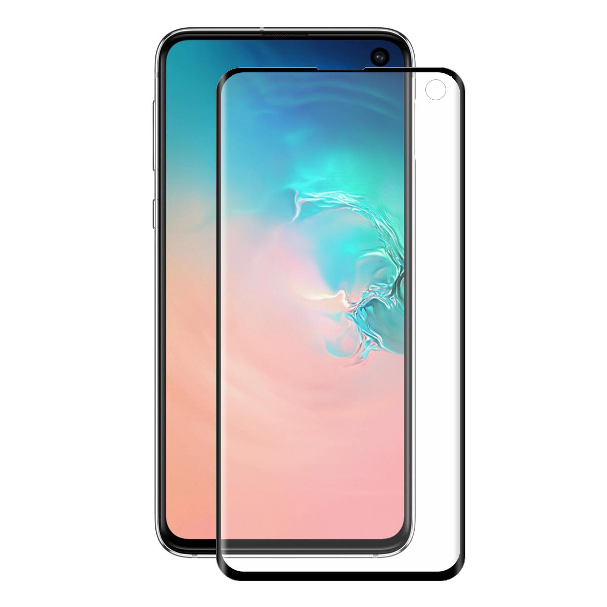 Enkay 3D Curved Edge Screen Protector For Samsung Galaxy S10e Full Screen Cover PET Film