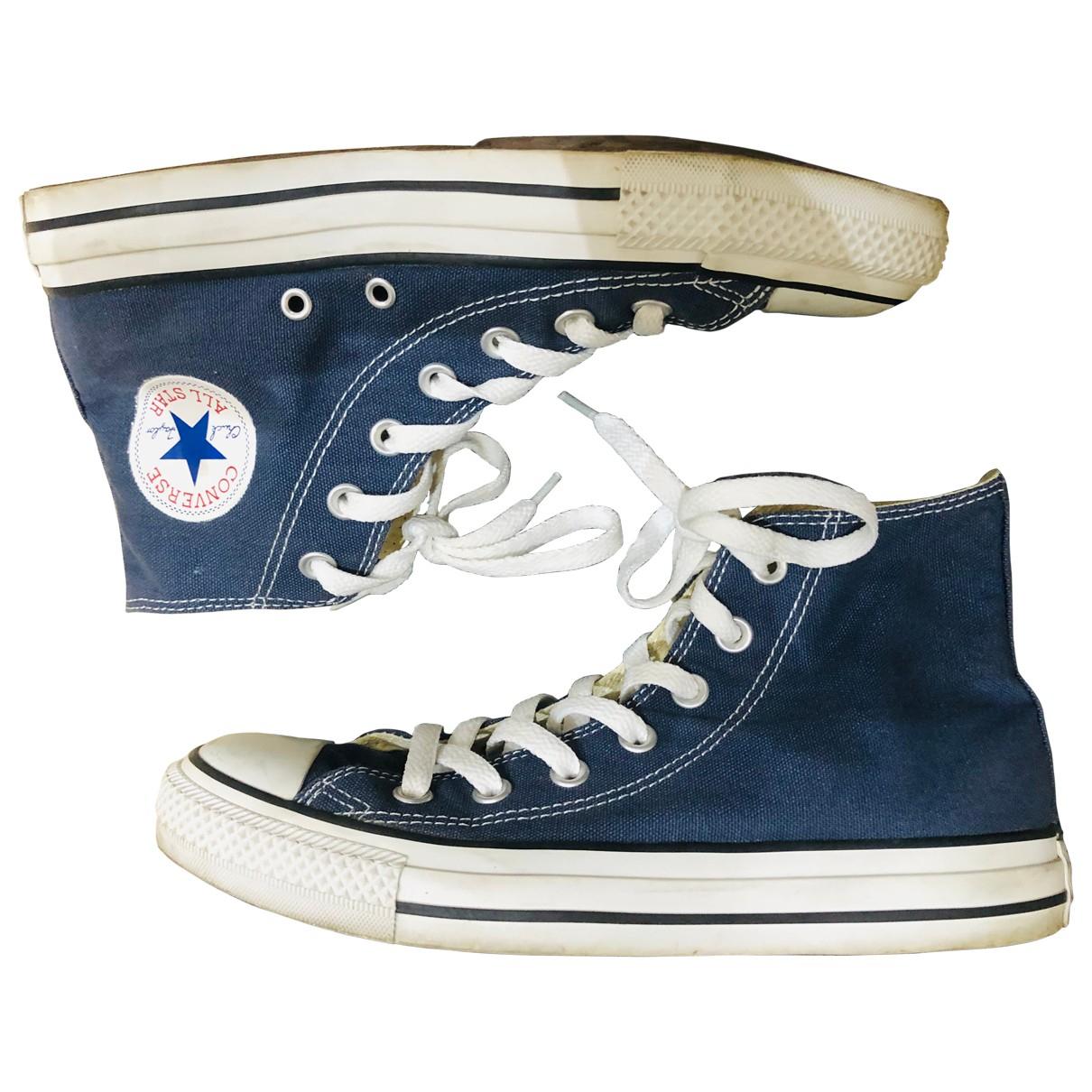Converse \N Sneakers in  Blau Kautschuk