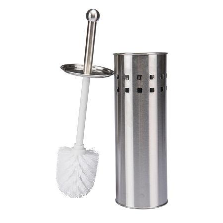 Kennedy International Toilet Bowl Brush, One Size , Stainless Steel