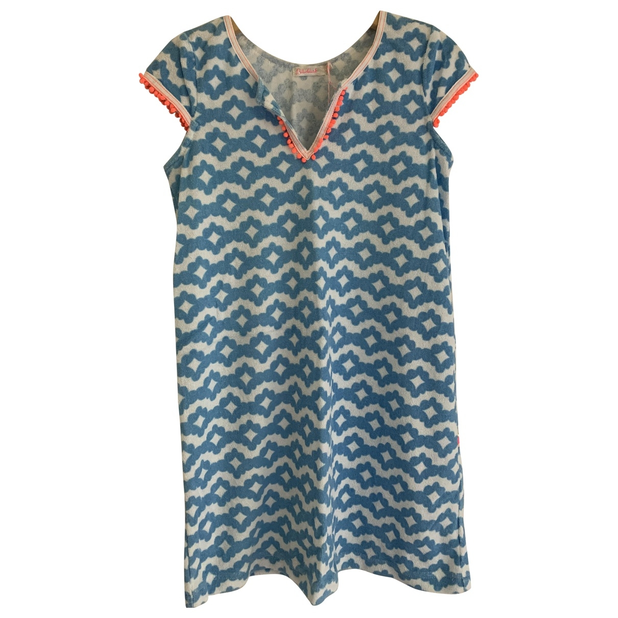 Billieblush \N Blue Cotton dress for Kids 8 years - up to 128cm FR