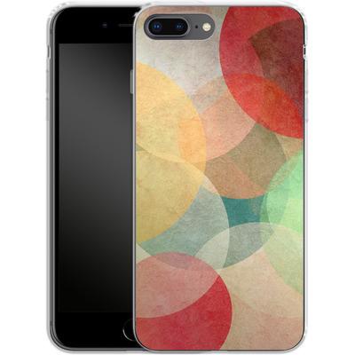 Apple iPhone 7 Plus Silikon Handyhuelle - The Round Ones von Georgiana Teseleanu