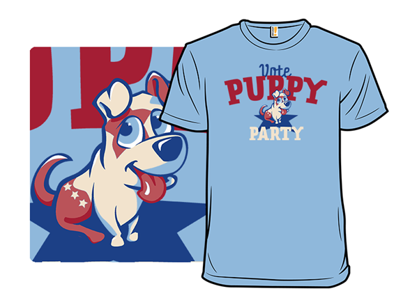 Puppy Politics T Shirt