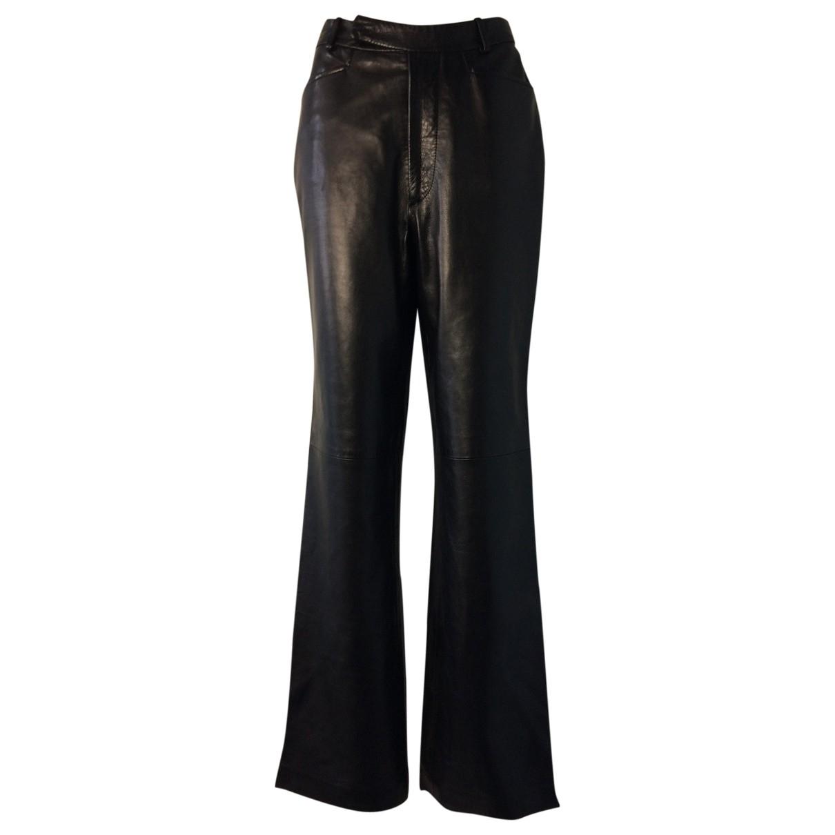 Pantalon de Cuero Gucci