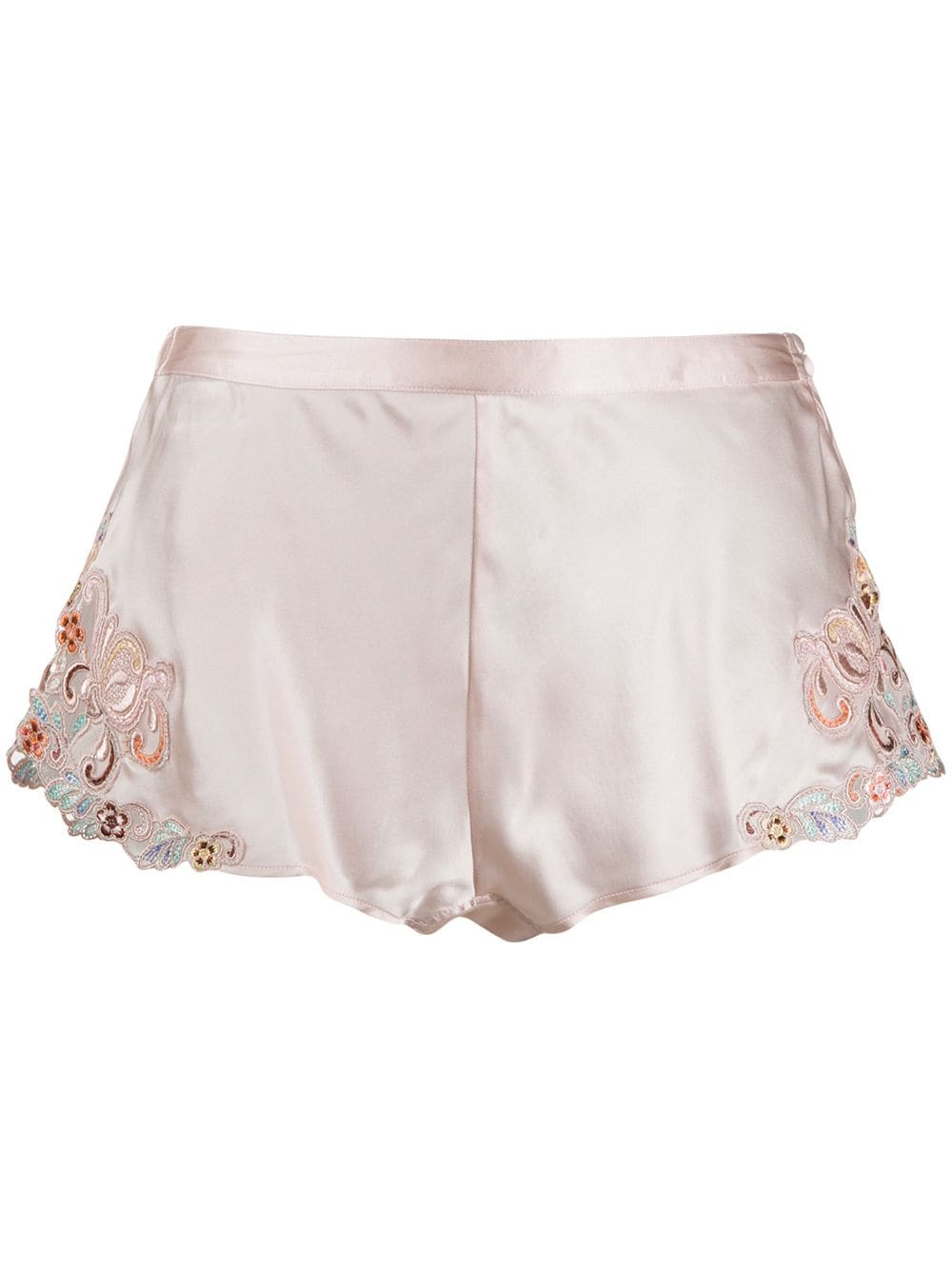 Maison Rainbow Silk French Knickers