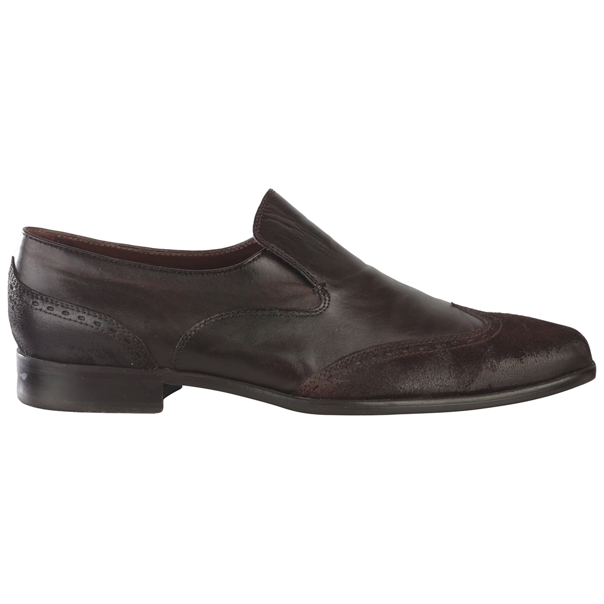 Hugo Boss \N Brown Leather Lace ups for Men 43 EU