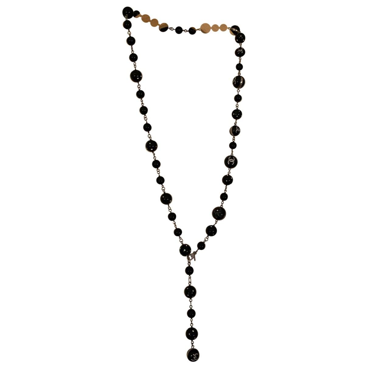 Chanel \N Black Pearls Long necklace for Women S International