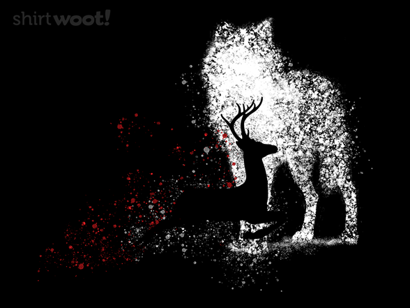 Wolf And Deer T Shirt