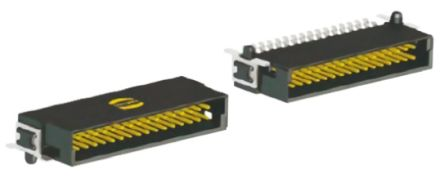 HARTING , Har-Flex, 68 Way, 2 Row, Right Angle PCB Header