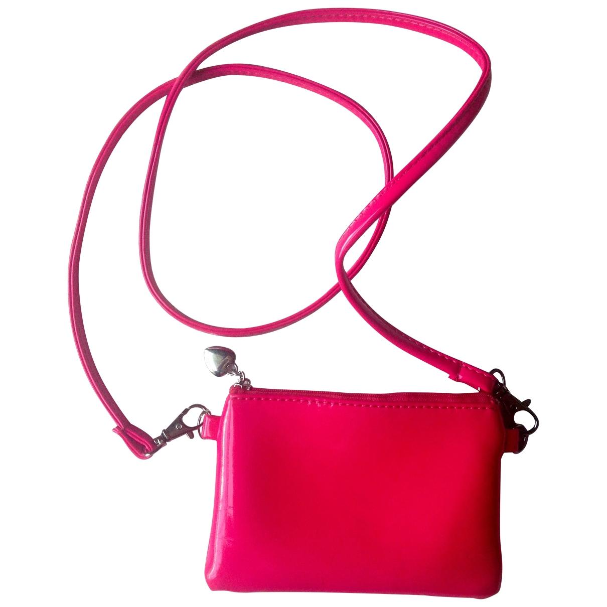 Bolsos clutch en Plastico Rosa Non Signe / Unsigned