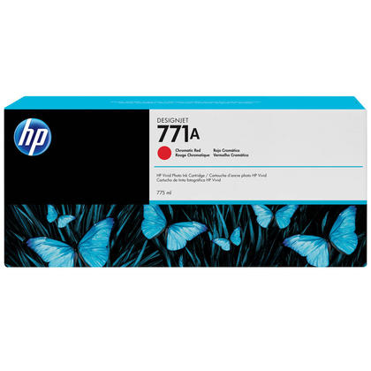 HP 771A B6Y16A Original Chromatic Red Ink Cartridge