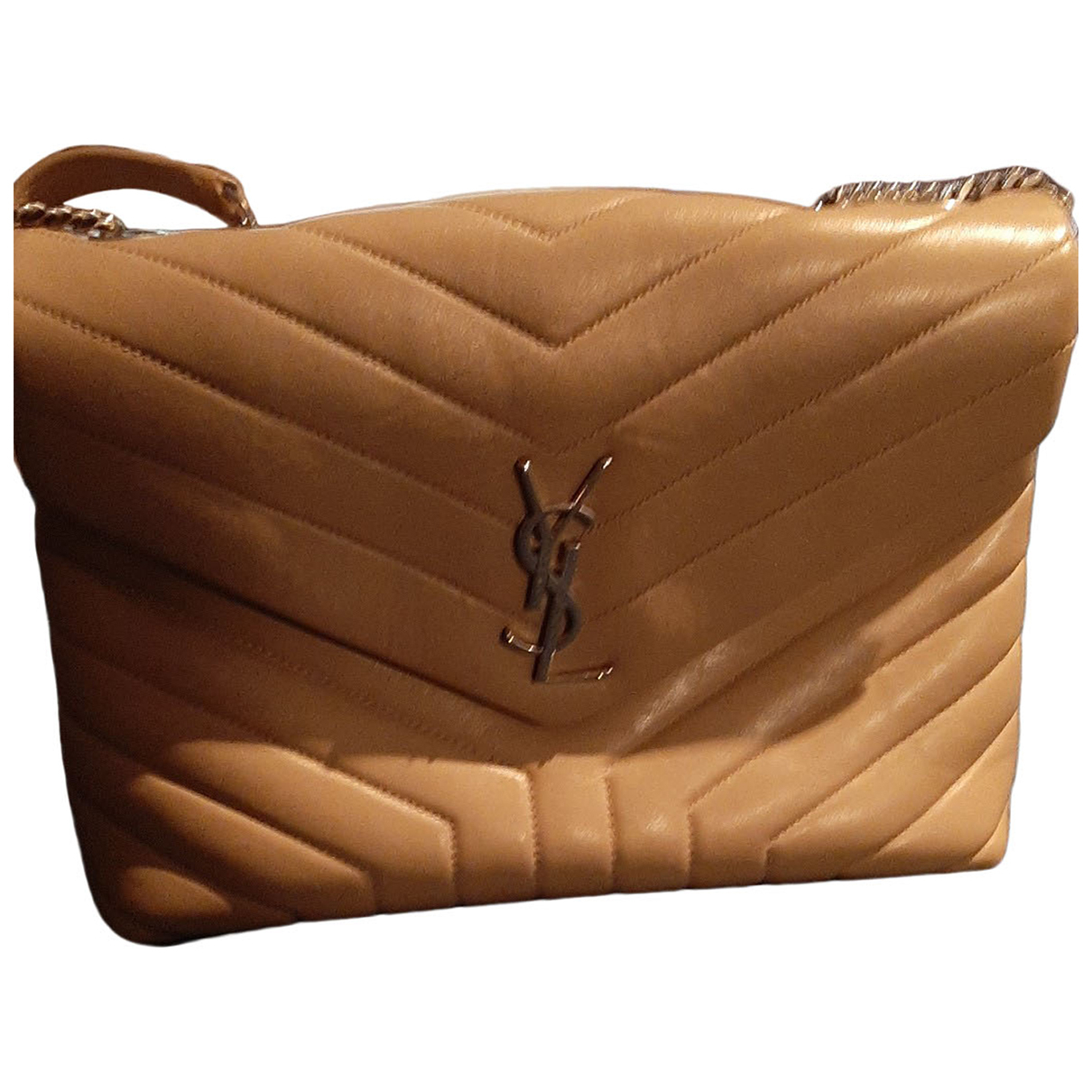 Yves Saint Laurent N Beige Leather handbag for Women N