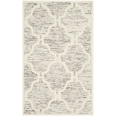 Safavieh Liz Geometric Hand Tufted Wool Rug, One Size , Brown