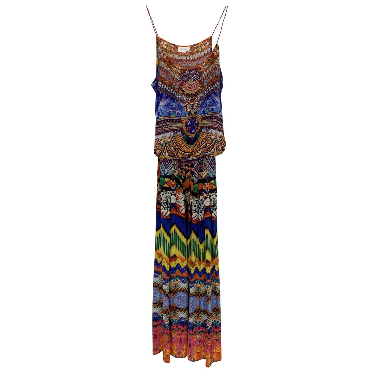 Camilla N Multicolour Silk jumpsuit for Women 2 US