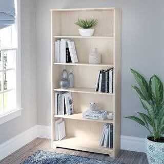 Copper Grove Daintree 5-shelf Bookcase. (Cream)