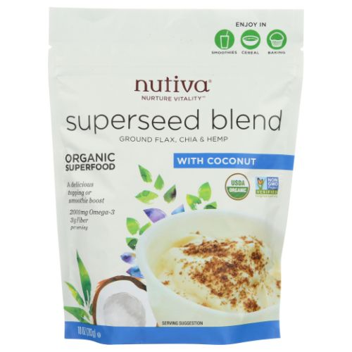 Organic Superseed Blend 10 Oz by Nutiva