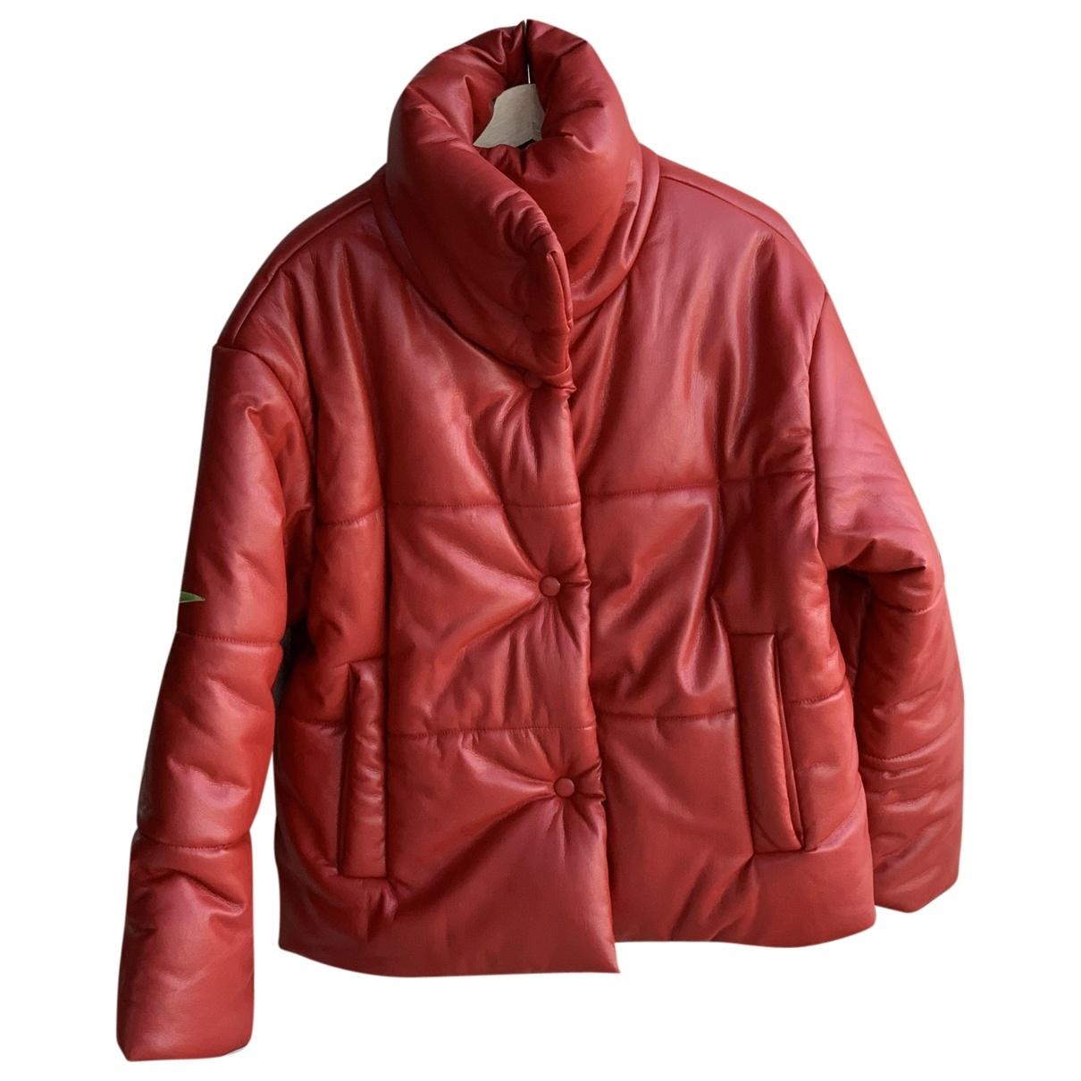 Nanushka \N Red Leather coat for Women S International