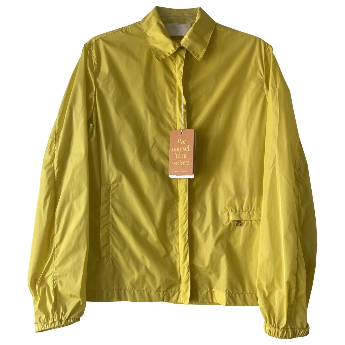 Prada - Veste   pour femme - jaune