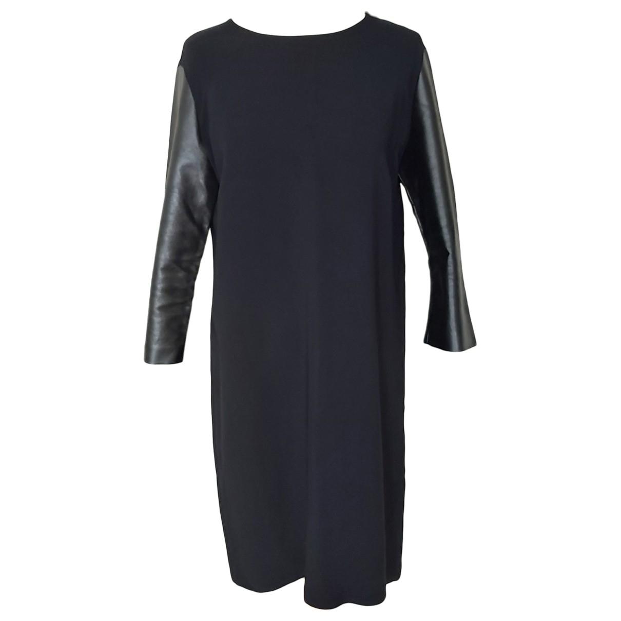 Stella Mccartney \N Black Cotton dress for Women 46 IT