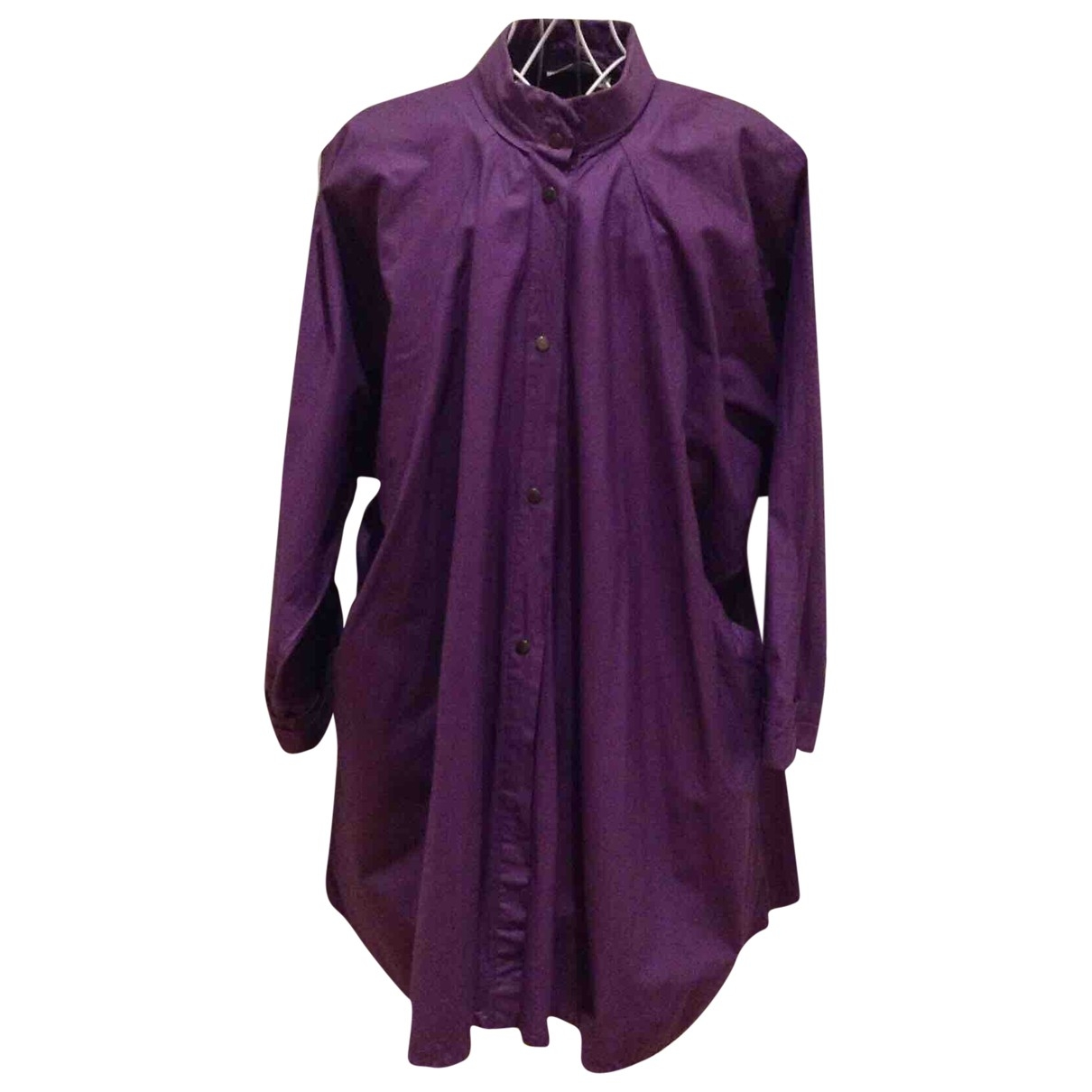Non Signé / Unsigned \N Purple  top for Women One Size International