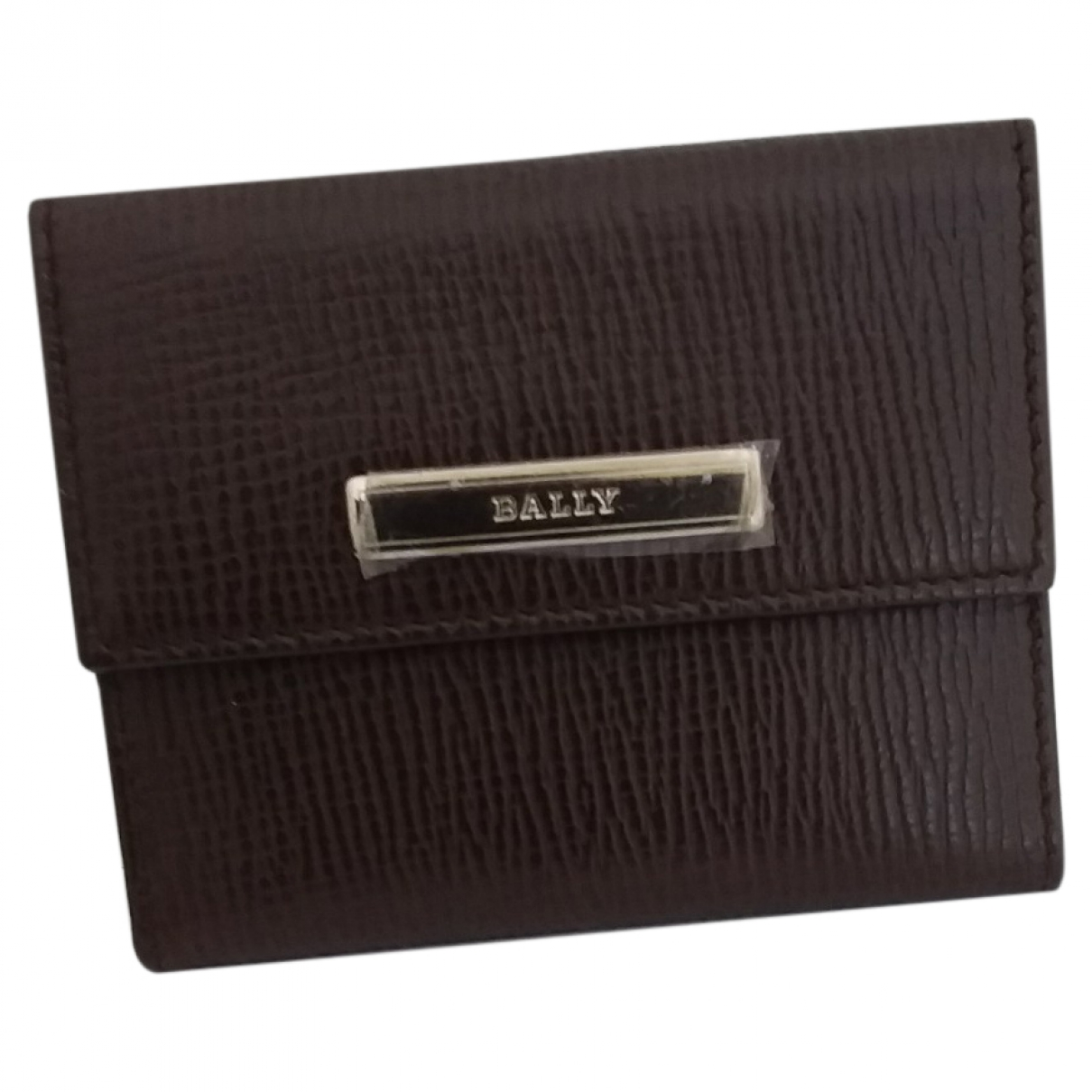 Bally \N Brown Leather wallet for Women \N