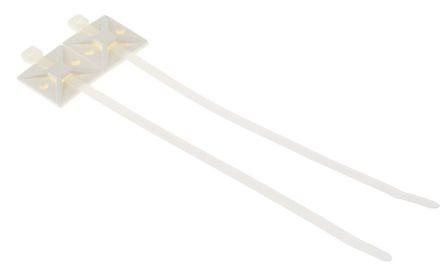 HellermannTyton Nylon 66 Cable Tie Assemblies200mm x 4.6mm, Natural