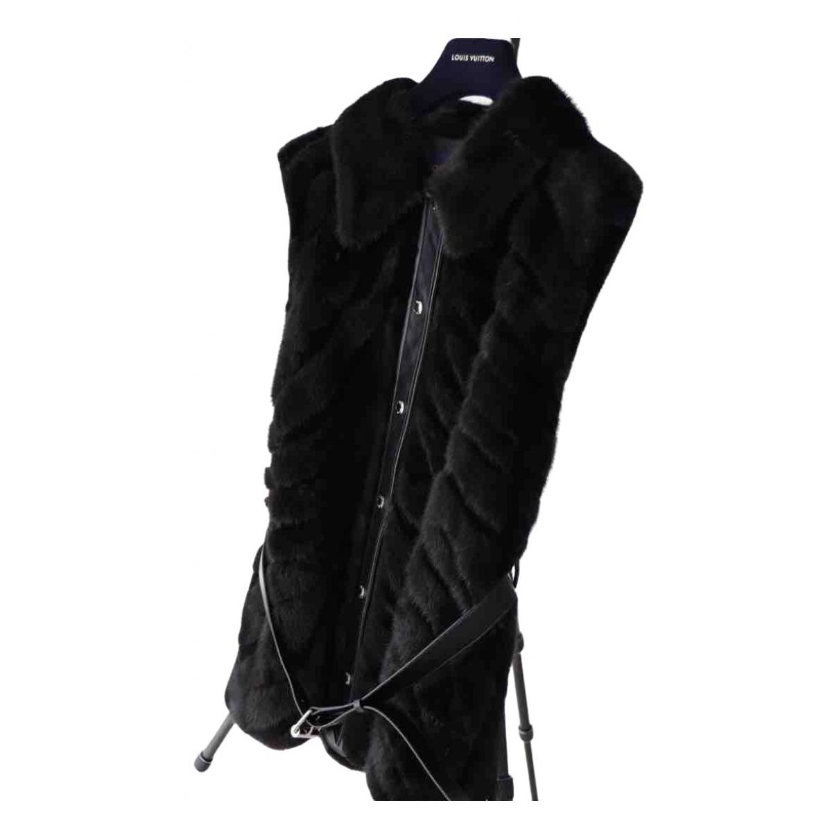 Louis Vuitton - Veste   pour femme en vison - noir