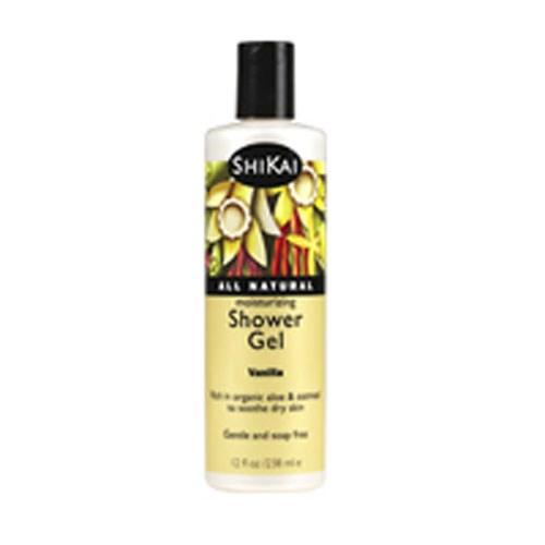 Moisturizing Shower Gel French Vanilla 1 gal by Shikai