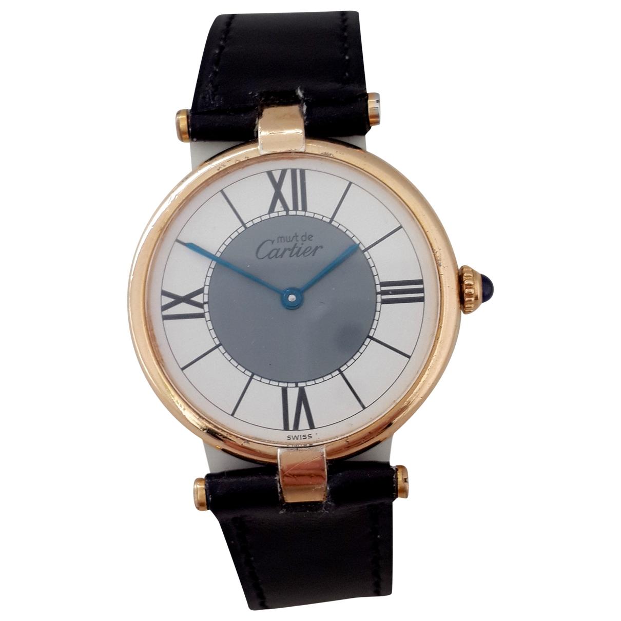 Reloj Must Vendome  Cartier