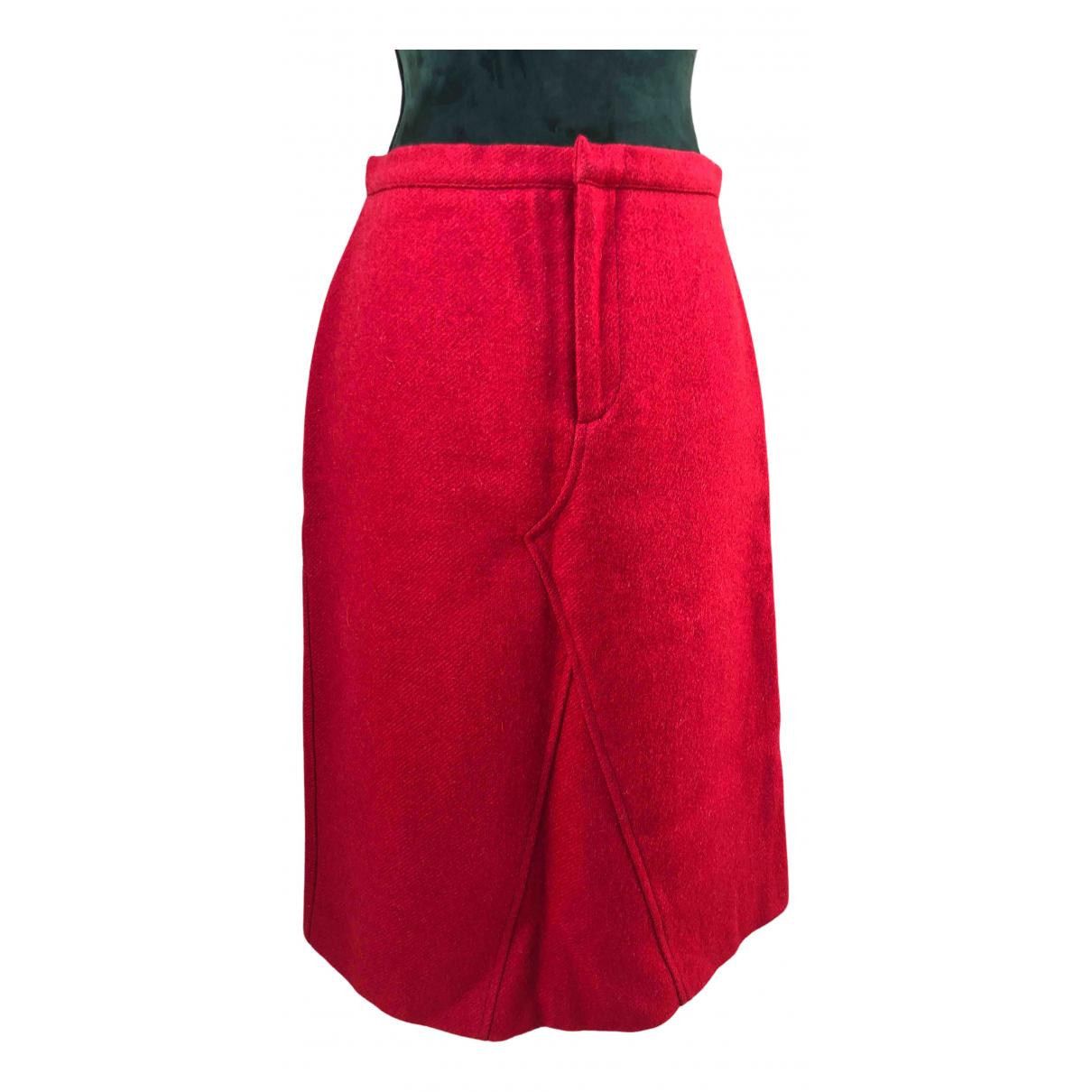 Max & Co - Jupe   pour femme en laine - rouge