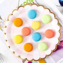 5 Stuecke zufaelliger Radiergummi mit Macaron Design
