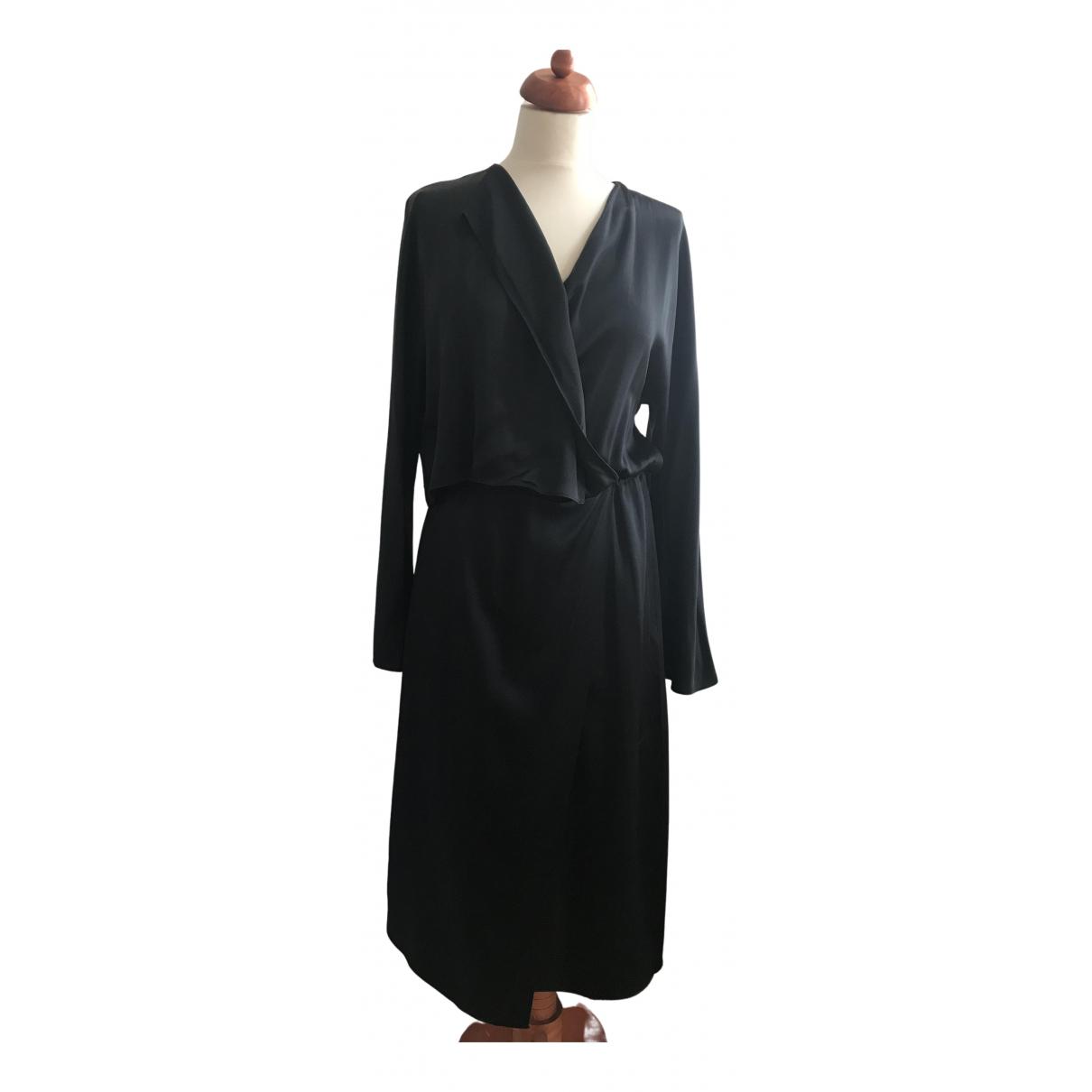 Vince N Black Silk dress for Women S International