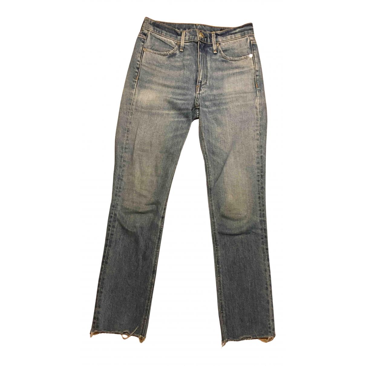 Rag & Bone N Blue Cotton - elasthane Jeans for Women 34 FR