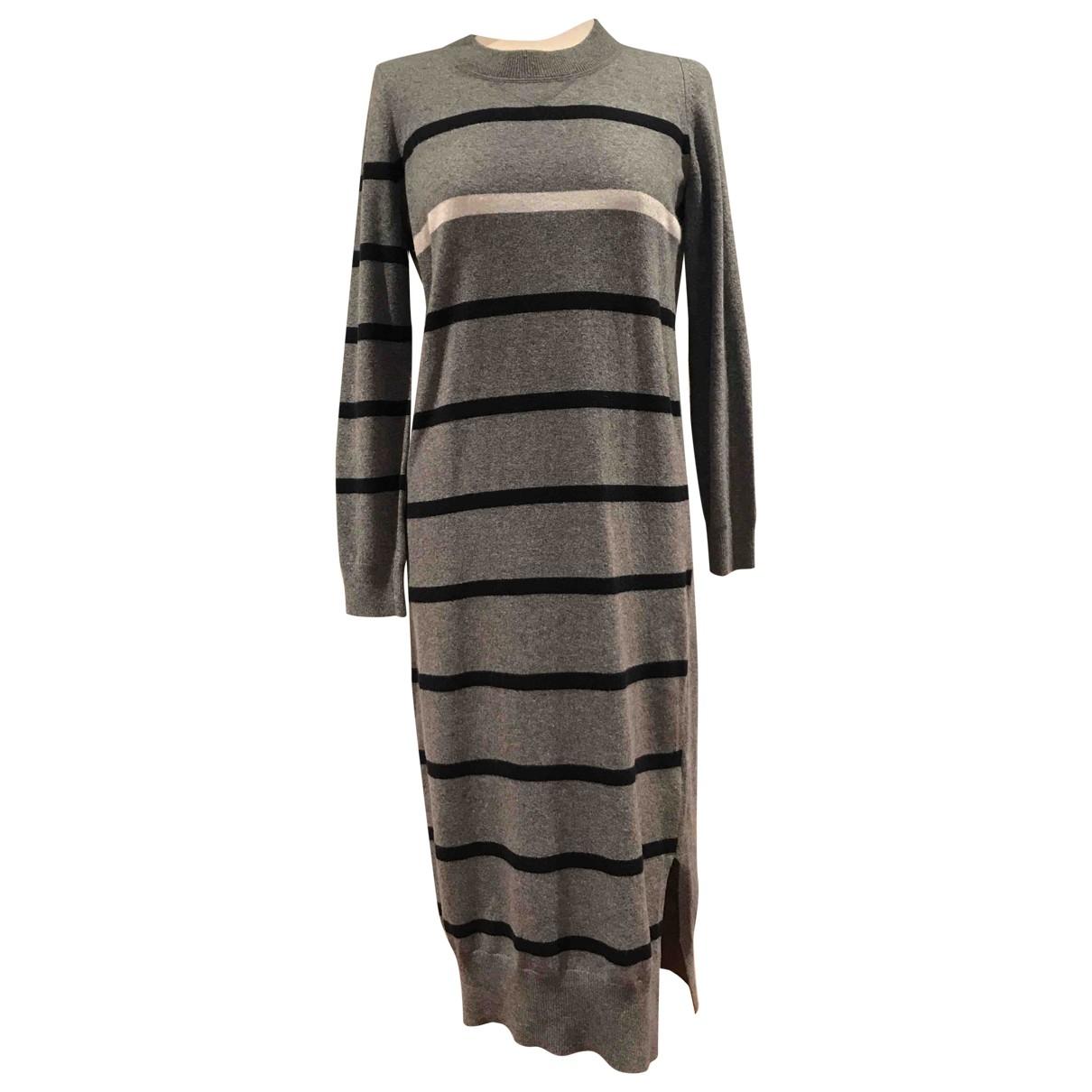 Semicouture \N Grey Wool dress for Women S International