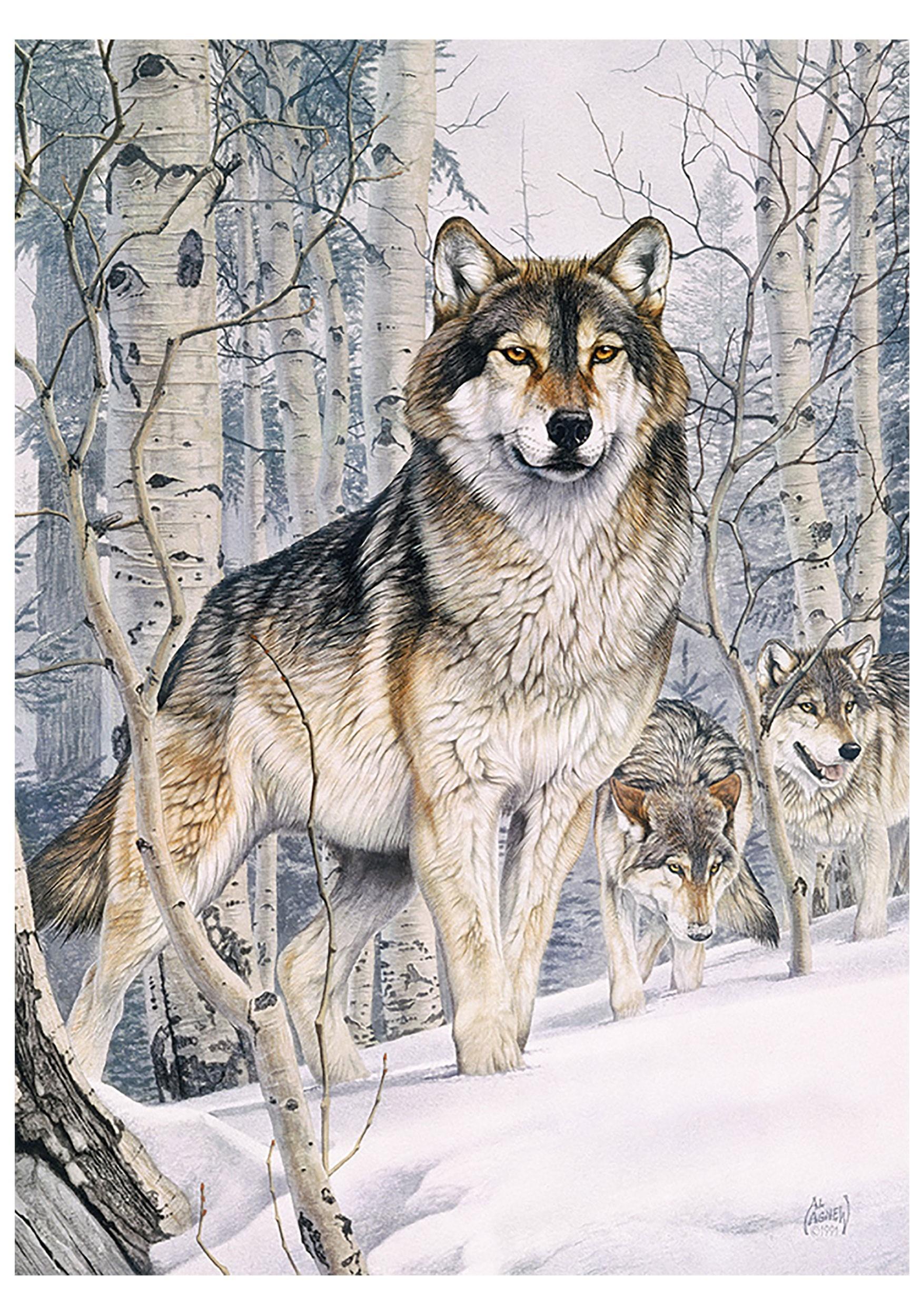 Second Glance Cobble Hill Wolf 1000 Piece Puzzle
