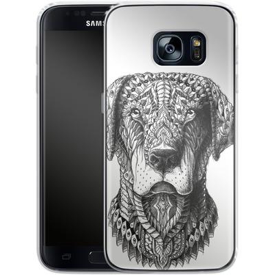 Samsung Galaxy S7 Silikon Handyhuelle - Labrador von BIOWORKZ