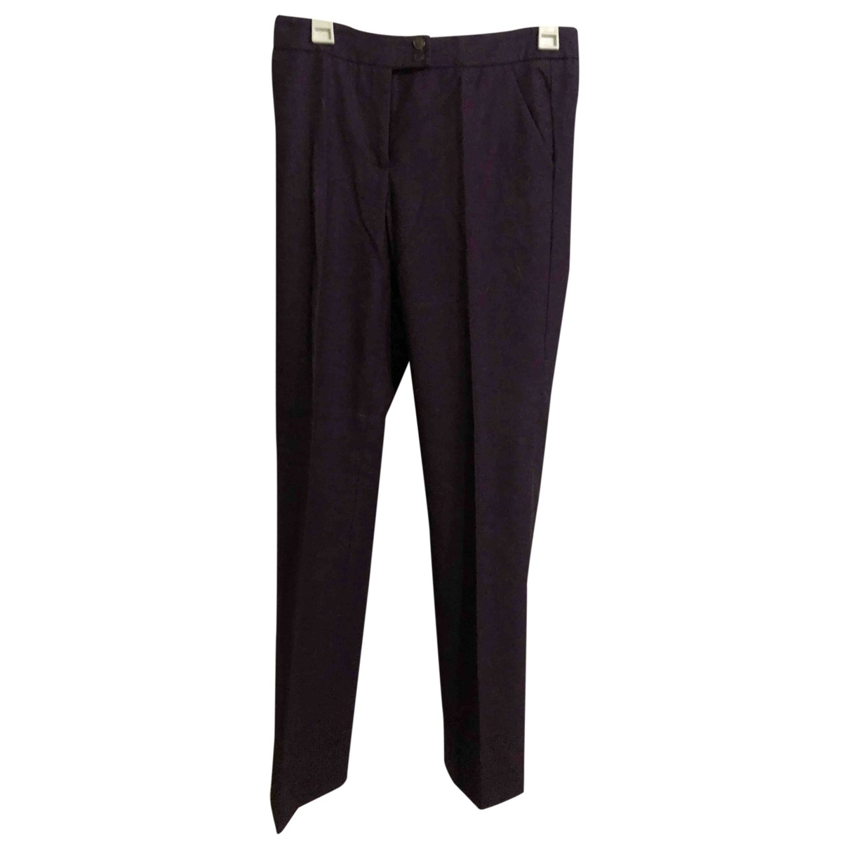 Etro \N Wool Trousers for Women 42 IT