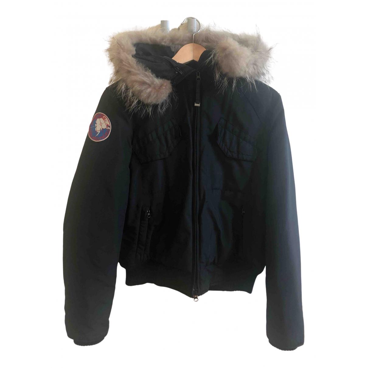 Museum - Veste   pour femme en coton - noir