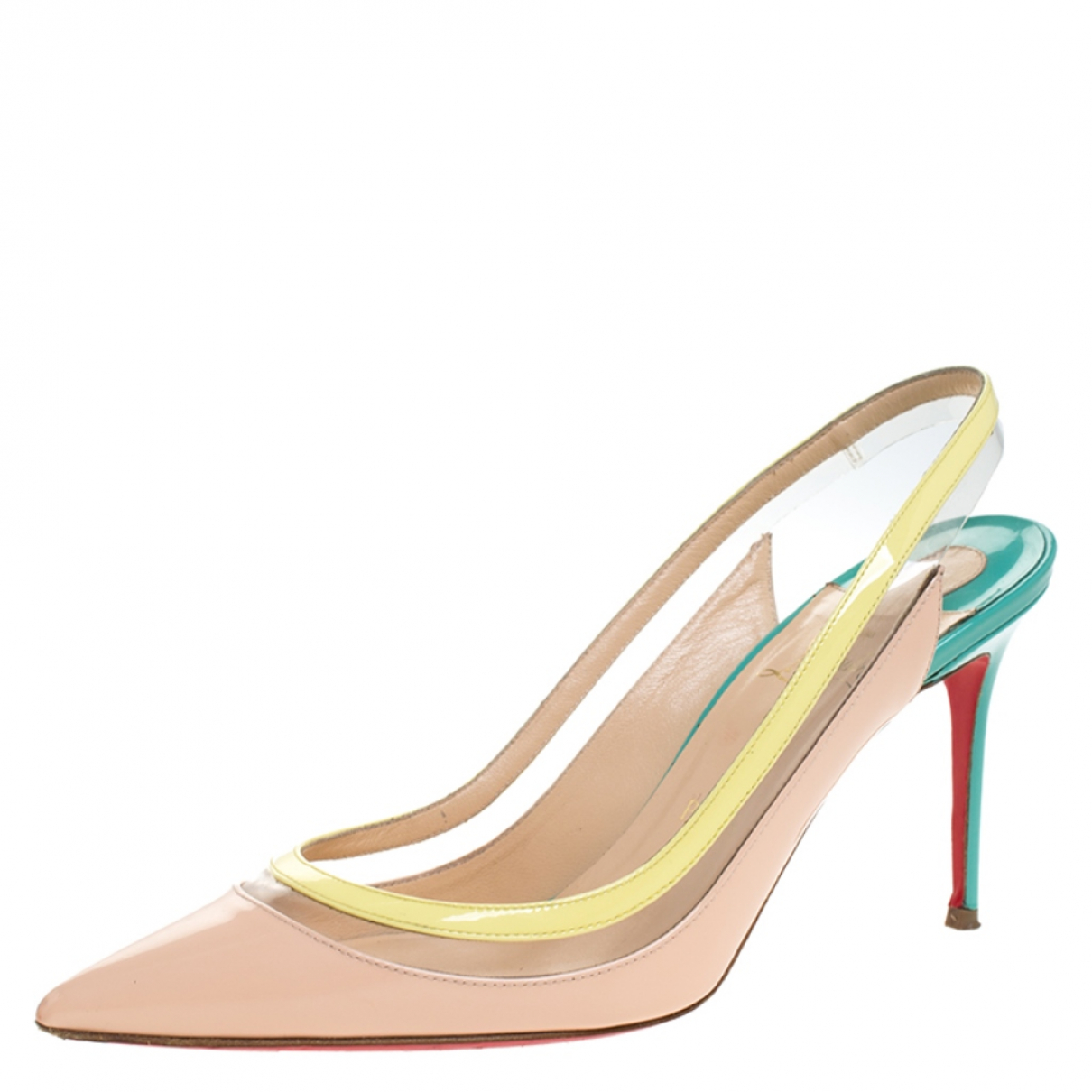 Christian Louboutin N Multicolour Patent leather Sandals for Women 7 US