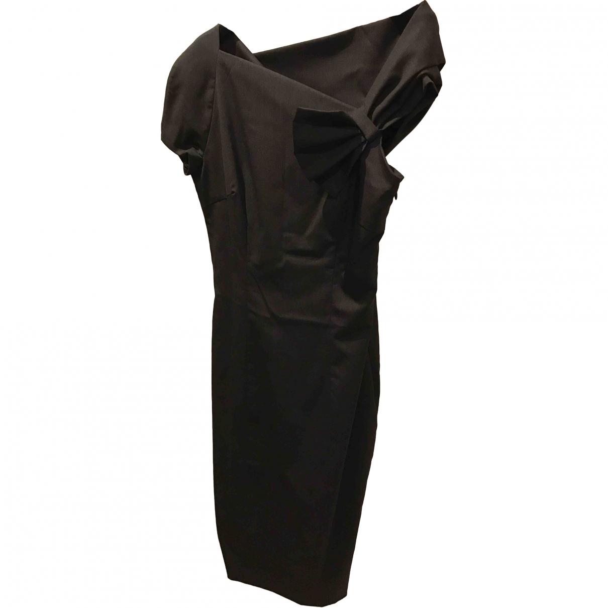 Dsquared2 \N Grey Wool dress for Women 44 IT