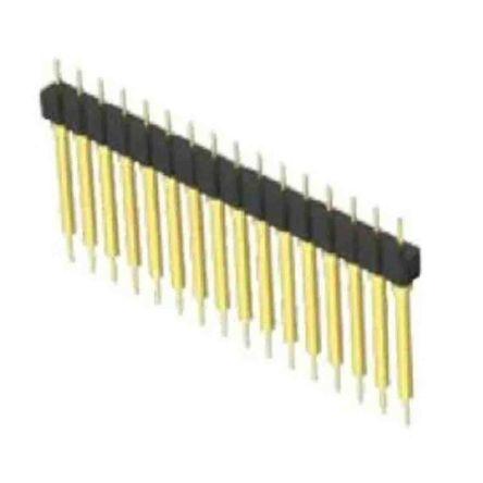 Samtec , BBS, 14 Way, 1 Row, Vertical PCB Header (16)