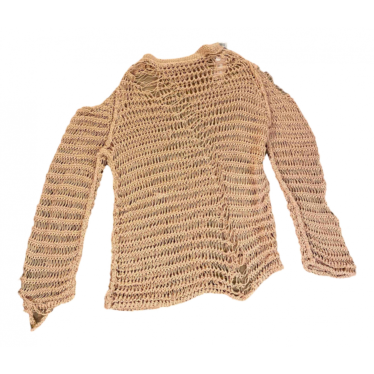 Maison Martin Margiela \N Pullover in  Rosa Baumwolle
