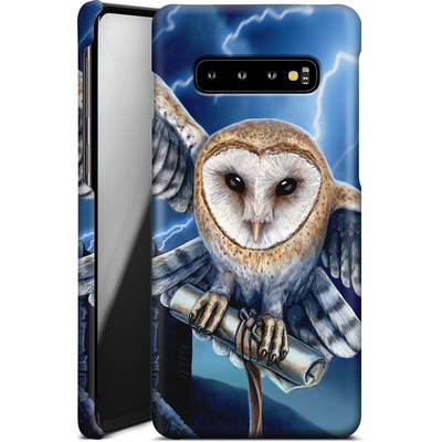 Samsung Galaxy S10 Plus Smartphone Huelle - Heart of The Storm von Lisa Parker
